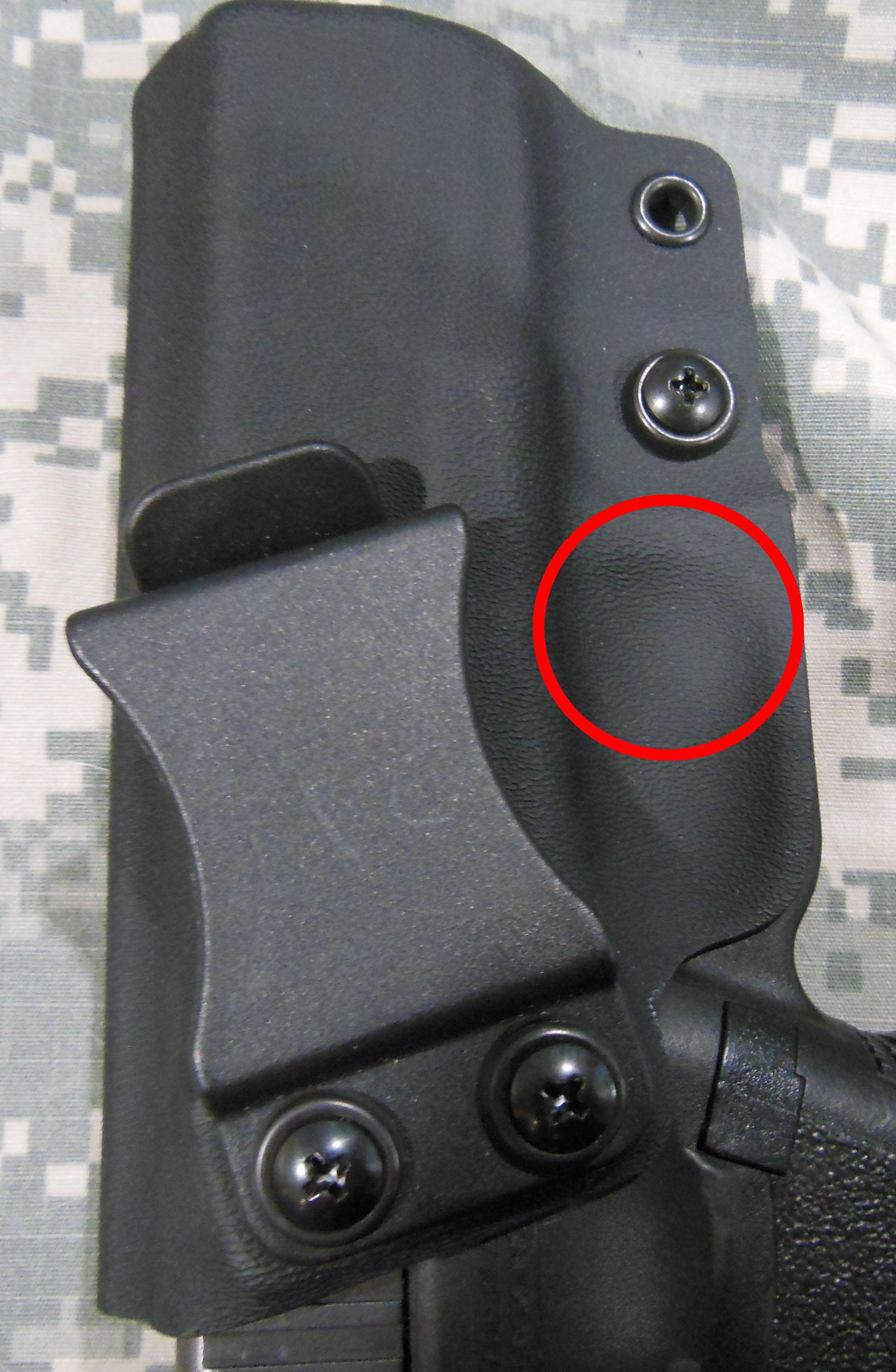 Adjust Kydex Holster Retention | Blue Line Concealment