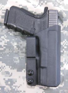 G23 Hard Loop Concealment Holster